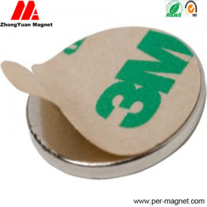 N35 N38 N40 3m Adhesive Backed Disc Neodymium Magnets pictures & photos