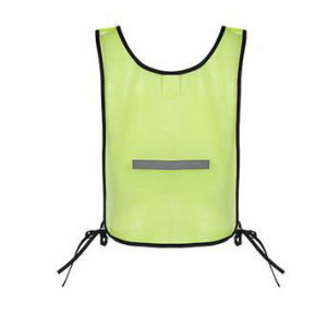 Cheap Polyester Mesh Flourescent Safety Vest pictures & photos