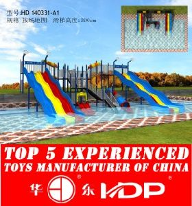 HD2014 Outdoor Newest Fiber Pool Slide (HD 140331-A1) pictures & photos