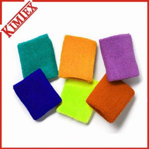 Solid Color Sports Gift Terry Wristband (kimtex-369) pictures & photos