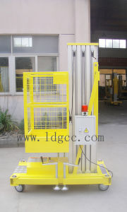 8meters Aluminium Hydraulic Aerial Work Lifting (GTWY8-100 yellow) pictures & photos