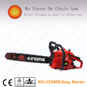 "38cc Gas Chain Saw with 16"" 3/8"" Chain and Bar"