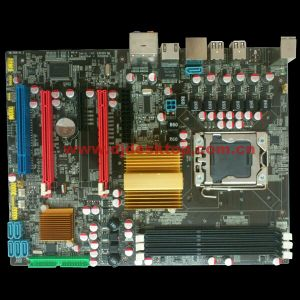 X58 Chipset LGA1366 Computer Mainboard with 3* DDR3/IDE/5*SATA pictures & photos