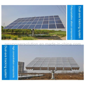 Dual-Axis Solar Tracking System for 2kw~20kw Solar Power Stations