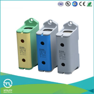 Feed Through High Current Cu/Al Screw Terminal Blocks pictures & photos