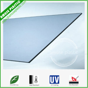 Flexible Poly Sheets 4X8 Blue Decoration Plastic Board Polycarbonate Sheet pictures & photos