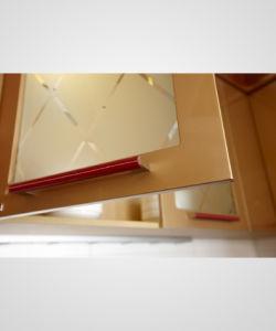 18mm PVC Foil Kitchen Cabinet Door/Kitchen Furniture (zc-044) pictures & photos
