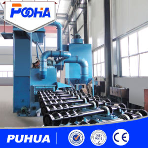 Round Tube Roller Table Type Shot Blasting Machine pictures & photos