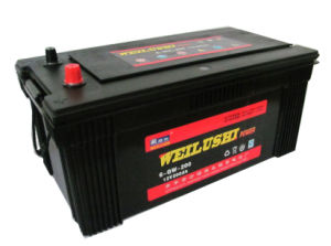 JIS Car Battery/Storage Battery/N200 12V200ah Mf Car Battery pictures & photos