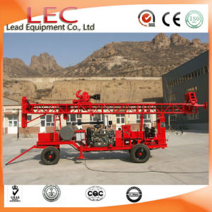 China Supplier 300m Trailer Mounted Water Well Drill Rig pictures & photos