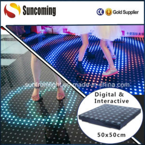 LED Stage Floor/LED Interactive Dance Floor/LED Dance Floor Lights pictures & photos