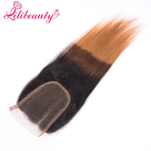 1b/4/30 Human Hair Top Closure for Woman pictures & photos