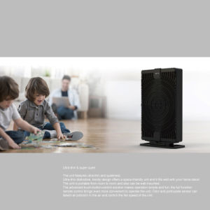 Home Air Purifier, HEPA and Activated Carbon Filter Air Cleaner pictures & photos