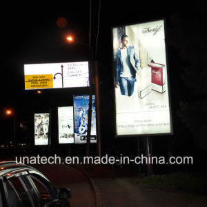 Media Image Advertising Aluminium Frame LED Bulb Scrolling Mupy Light Boxes Outdoor Billboard pictures & photos