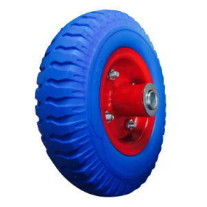 "2.50""-4 Carefree PU Wheel for Tool Cart pictures & photos"