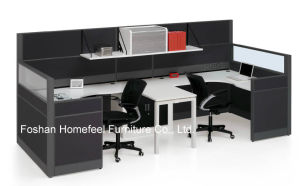Popular Office Workstation Partition with Overhead Cabinet (HF-BSP004) pictures & photos