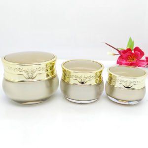 Acrylic Jar and Bottle Professional Cosmetic Packaging Supplier (NST53) pictures & photos