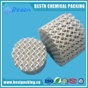Ceramic Structured Packing with Good Resistance as Mass Transfer Media pictures & photos