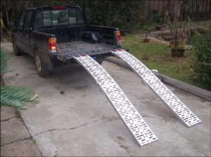 Arched Aluminum Ramp-Foldable Plate Style (PR10310) pictures & photos