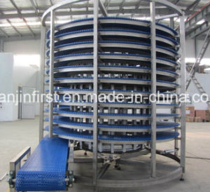 Spiral Cooling Tower Bakey Stainless Steel Hamburger Bread pictures & photos