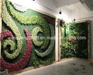 Hot Sale Hotel Restaurant Evergreen Flower Plant Wall pictures & photos