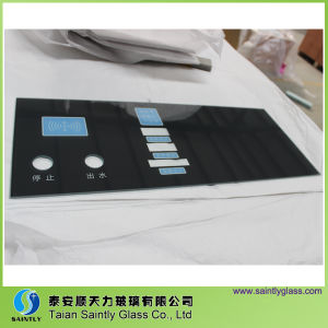 Tempered Glass with Printing for Automatic Water Dispenser pictures & photos