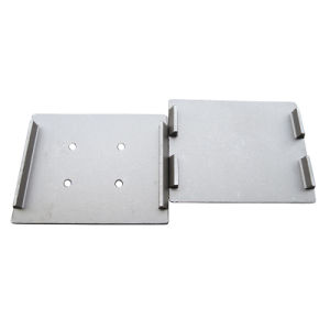 Ts-16949 Proved Steel Forging Machinery Part Custom-Made Forging Part for Rails-Shockproof-Plate 2