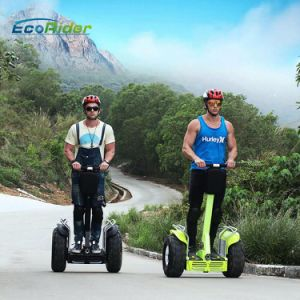 2 Wheels Brushless 4000 Watt Self Balancing Scooter 1266wh 72V Double Battery Golf Scooter pictures & photos