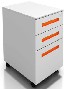 Z-Edge (L Type) 3-Drawers Mobile Pedestal (SQ Series) pictures & photos
