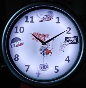 LED Back Lighting Clock/LED Neon Clock/Promotion Gift