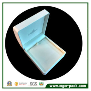 Decorative White Leather Plastic Jewelry Box pictures & photos