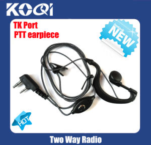 Earpiece K04 to Two Ways Walkie Talkie Communication pictures & photos