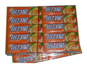 Orange Flavor Support Star Chewing Gum (CG3)