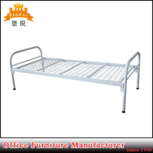 School Hotel Military Worker Cheap Steel Metal Single Bed for Adults pictures & photos