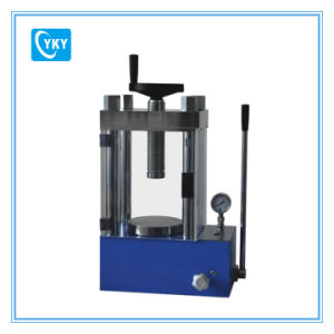 60t Laboratory Manual Hydraulic Press with PMMA Cover Cy-PC-60f pictures & photos