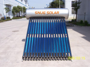 High Efficiency Pressurized Solar Water Heater with SUS316L Inner Tank pictures & photos