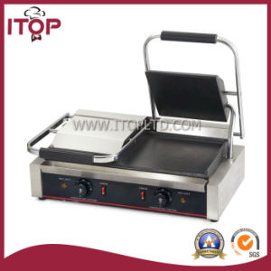 Double Commercial Contact Grill (SWM) pictures & photos