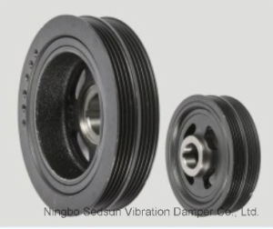 Torsional Vibration Damper / Crankshaft Pulley for Hyundai 23124-23510 pictures & photos