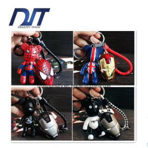 Manufacturer Trendy Cute Bear Metal Promotion Key Ring pictures & photos