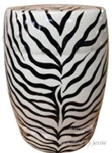 Chinese Ceramic Zebra Stripe Stool (LS-146) pictures & photos
