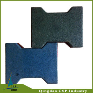 Best Quality Qingdao Cheapest Rubber Flooring Paver for Outdoor pictures & photos