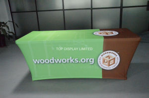 Advertising Printed Table Cover Table Cloth Waterproof Oxford Tablecloth pictures & photos