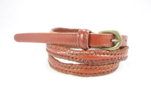 Fashion Lady Braided Leather Belt (EUBL0795-10)
