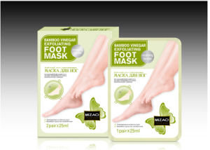 Foot Care Bamboo Vinegar Exfoliating Nourishing Tender Foot Mask pictures & photos