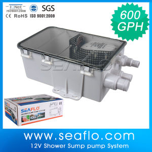 Seaflo 600gph 12V Bathroom Pump pictures & photos
