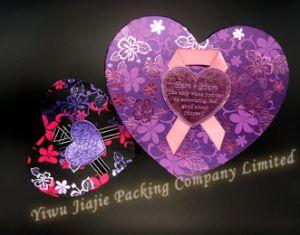 Heart Shape Gift Box with Foil Flower Design