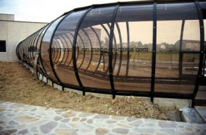 High Quality Polycarbonate Sheet for Noise Barriers on Railway pictures & photos