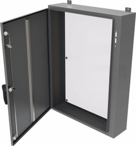 NEMA 12 13 IP54 Industrial Carbon Steel Electric Single Door with Handle Disconnect Enclosure for ABB Controls pictures & photos