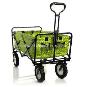 Sports Blue Folding Wagon Collapsible Utility Cart pictures & photos