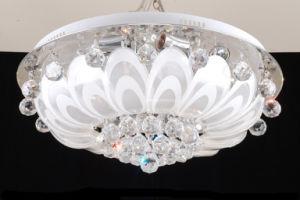 LED Light Source Cone Crystal Light Chandelier